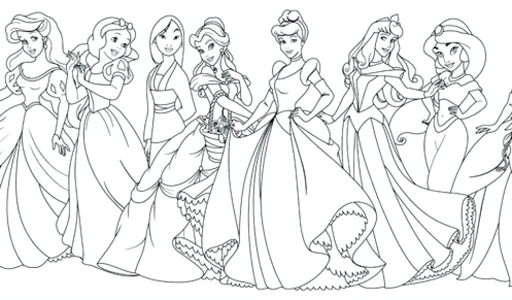Faerlmarie Coloring Pages: 33 Princess Coloring Pages For Adults