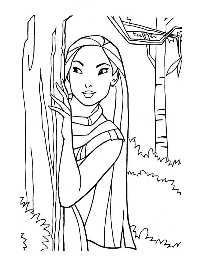 Disney Princess Coloring Pages For Kids At Getdrawings Com Free