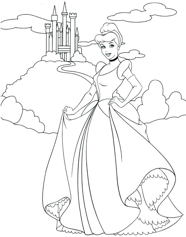 618x786 Disney Princess Coloring Pages Free To Print Princess Coloring