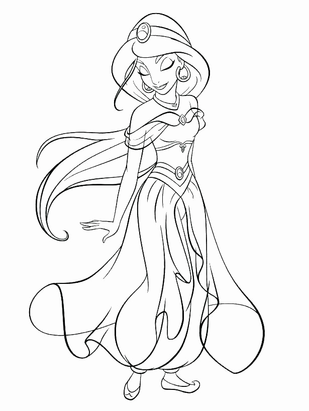 615x818 Awesome Gallery Of Disney Princess Coloring Pages Printable