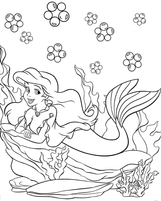 1200x1500 Fresh Disney Princess Coloring Pages Mermaid Belle Design