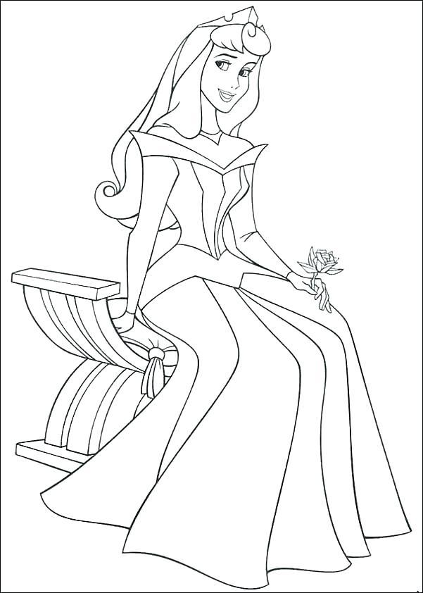 Disney Princess Coloring Pages Free To Print At Getdrawings Com