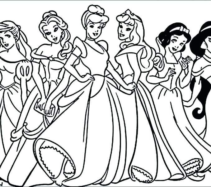 Disney Princess Coloring Pages Frozen Elsa