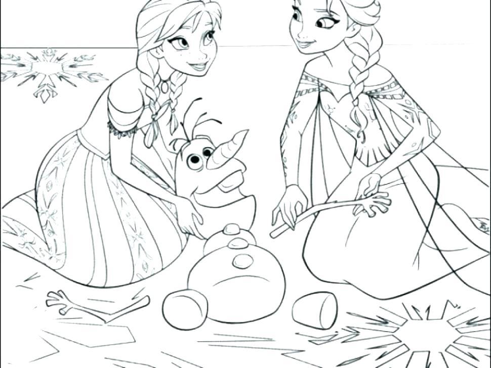 Disney Princess Coloring Pages Frozen Elsa At Getdrawings