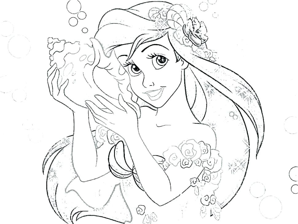 Disney Princess Coloring Pages Pdf