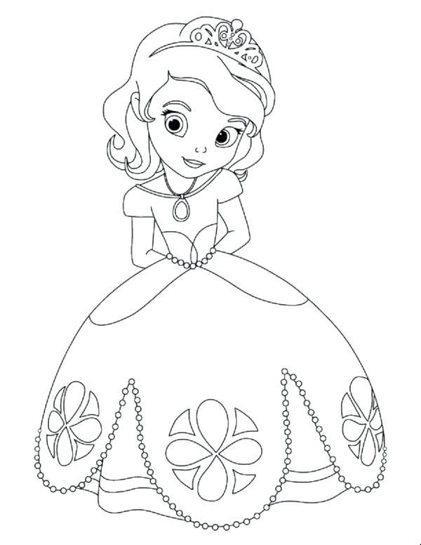 600x776 Coloring Pages Disney Baby Princess Coloring Pages Princess Disney