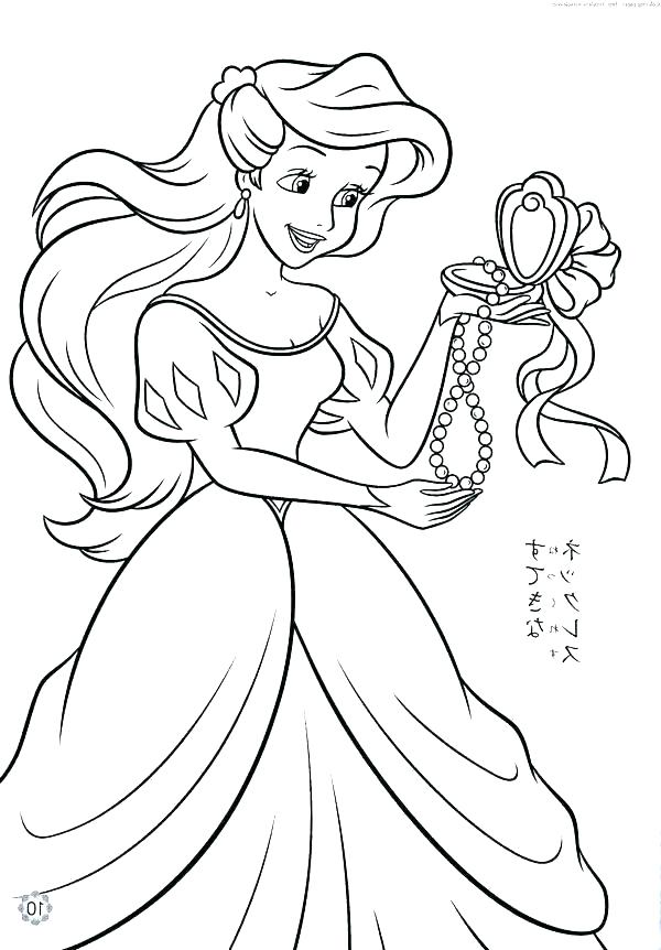 600x862 Disney Princess Color Pages Free Printable Coloring Pages Princess