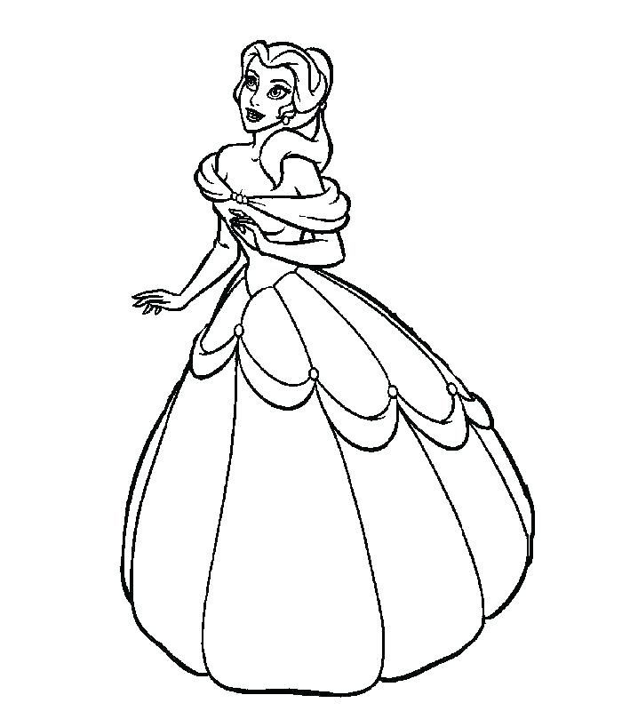 700x800 Princess Coloring Pages Best Princess Coloring Pages Princess