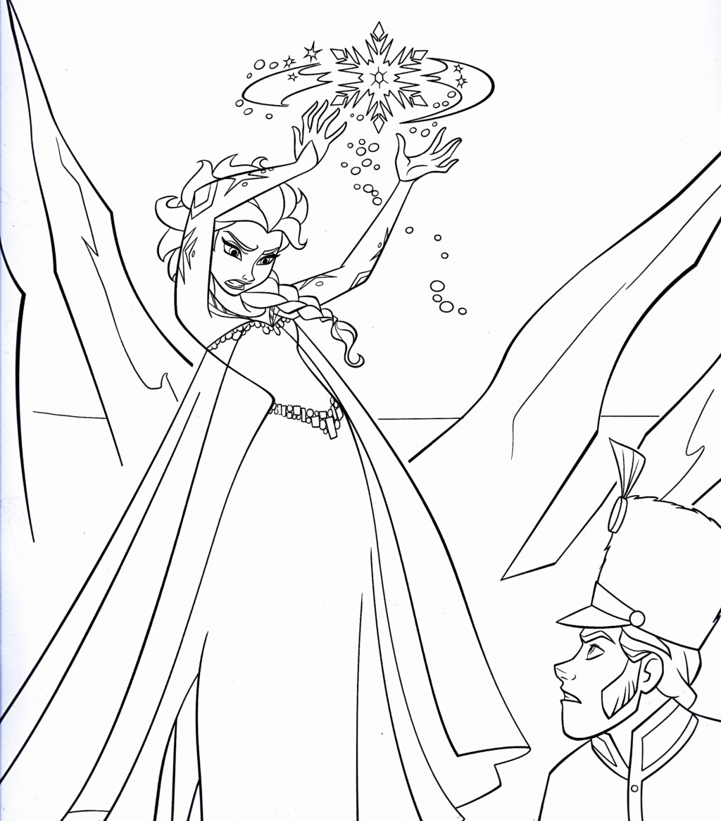 1024x1166 New Disney Princess Coloring Pages Frozen Elsa Collection