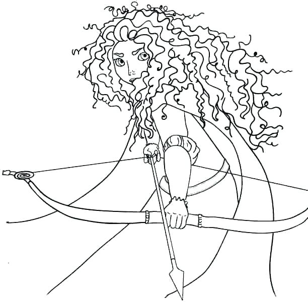 612x600 Disney Brave Coloring Pages Robin Hood Coloring Pages Free
