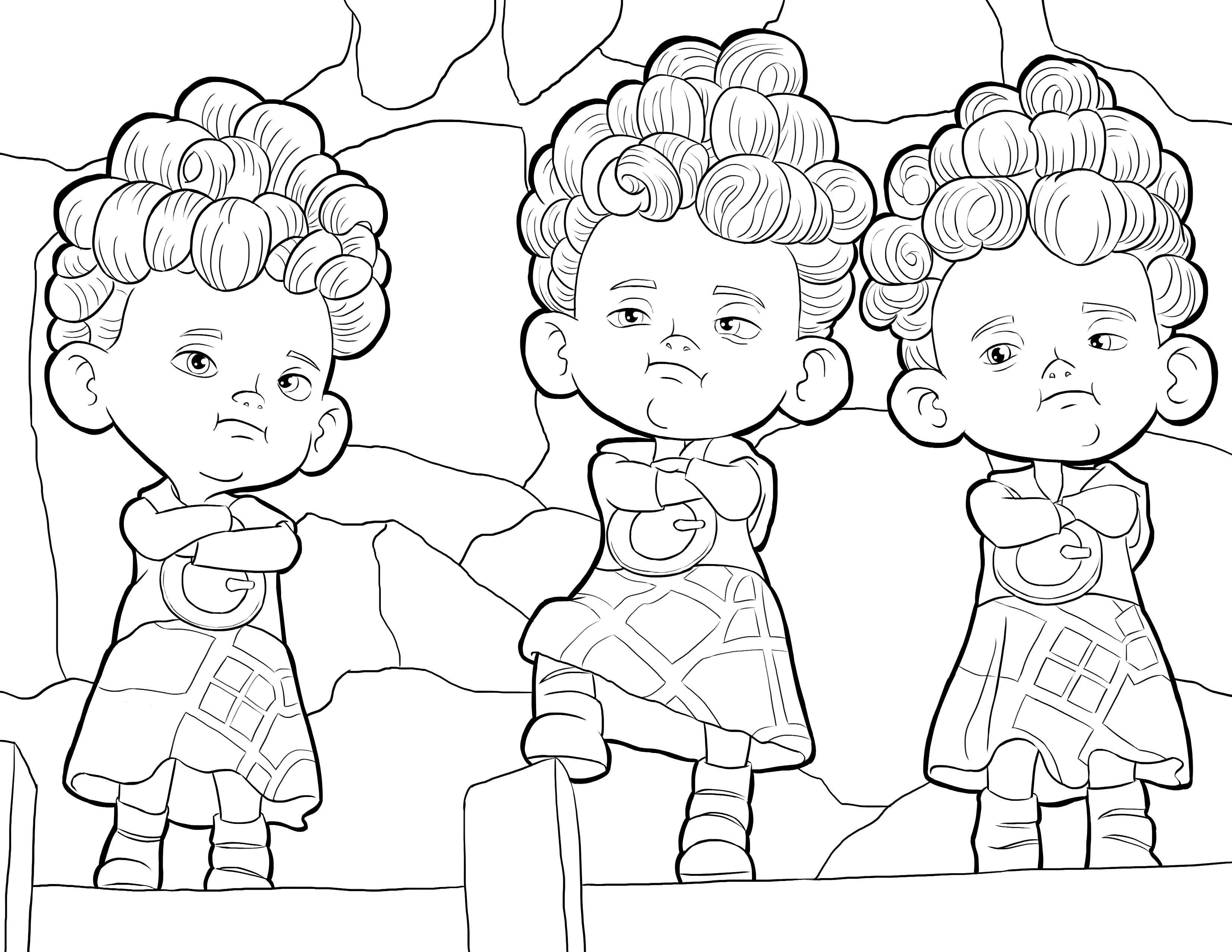 3300x2550 Brave Coloring Pages Princess Merida Coloring Pages For Kids