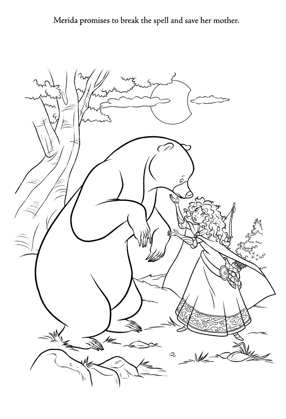 1086x1590 Brave Coloring Pages