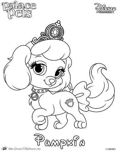 400x517 Princess Palace Pet Coloring Page Of Pumpkin Skgaleana