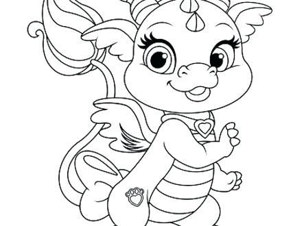 440x330 Princess Pets Coloring Pages Princess Palace Pets Free Coloring