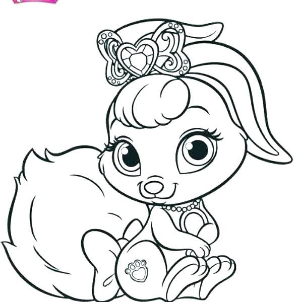 595x600 Princess Palace Pets Coloring Pages Devon Creamteas