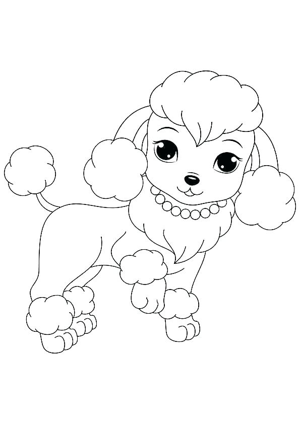 595x842 Princess Puppy Coloring Pages Printable Puppy Coloring Pages Me