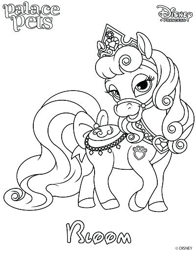 400x517 Princess Puppy Coloring Pages To Download The Bloom Coloring Page