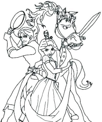 400x479 Princess Rapunzel Coloring Pages Coloring Games Coloring Pages