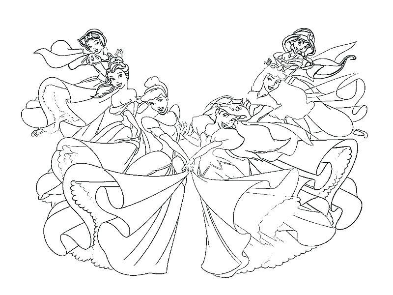 800x600 Princess Tiana Coloring Page Unique Princess Coloring Pages