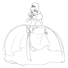 230x230 Top Disney Princess Coloring Pages For Your Little Girl