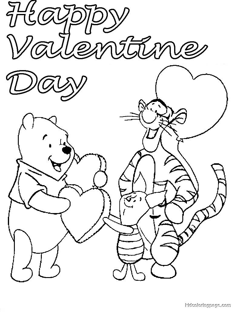 Disney Princess Valentines Day Coloring Pages at GetDrawings ...