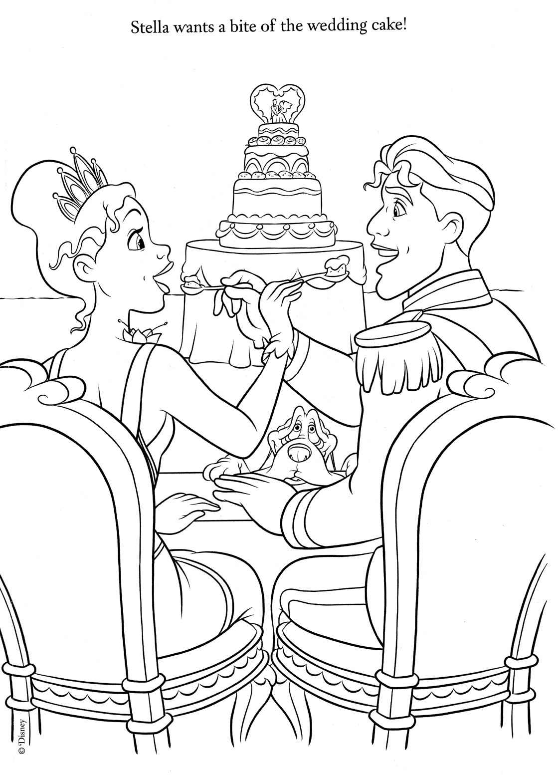 1119x1557 Coloring Pages Of Wedding Dresses, Beautiful Dress Coloring