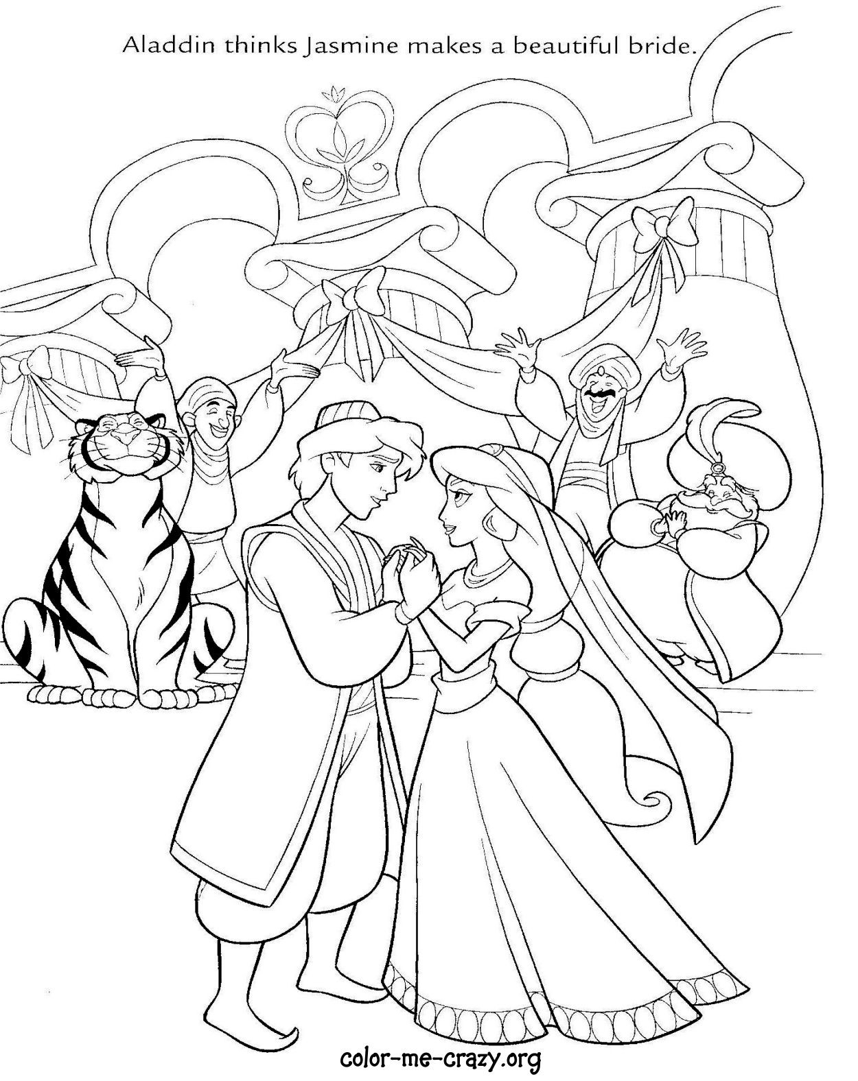 1250x1576 Disney Wedding Coloring Pages To Print N Princess Wedding