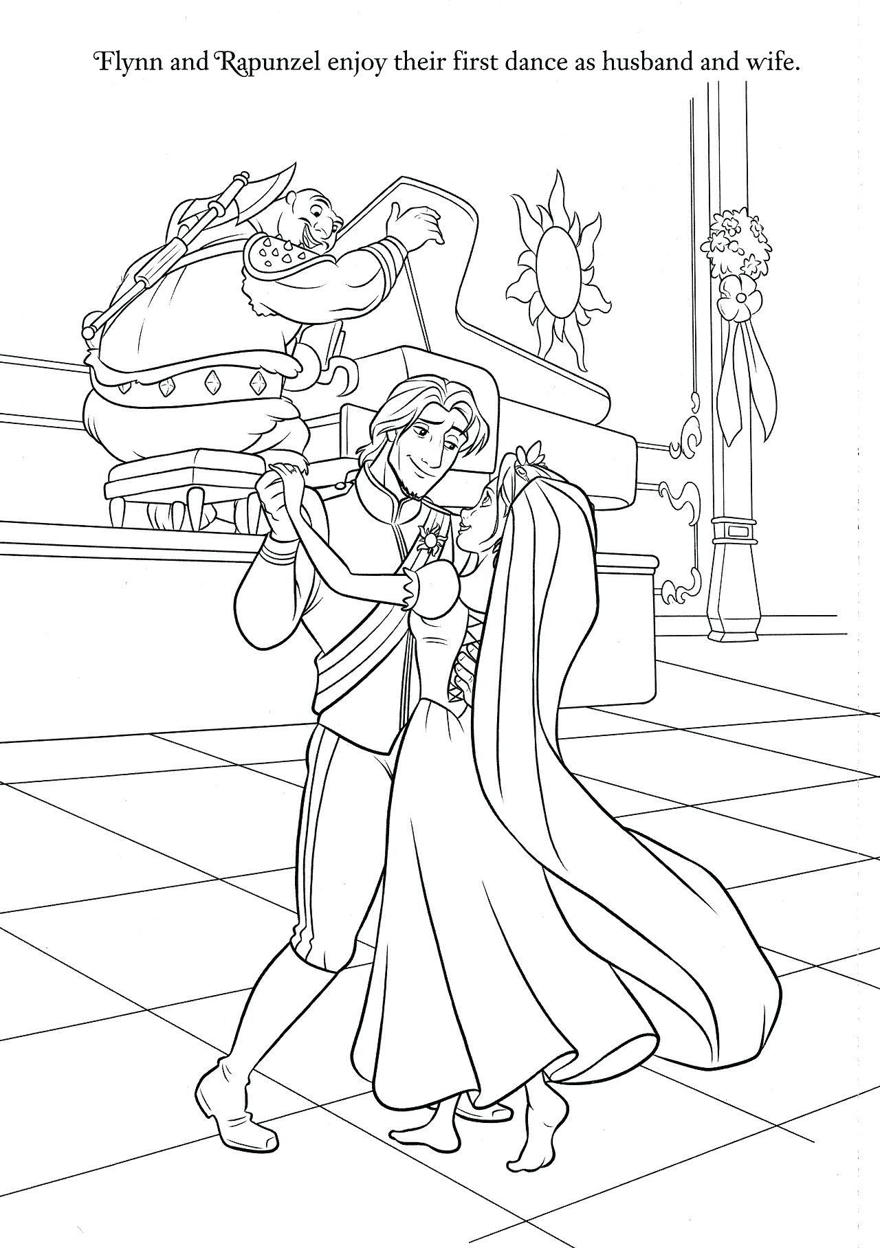 1280x1816 New Coloring Disney Wedding Coloring Pages