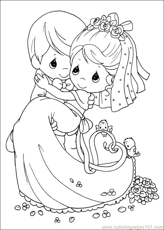 567x794 Wedding Coloring Pages Wedding Coloring Pages Free Printable