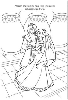 Disney Princess Wedding Coloring Pages at GetDrawings.com | Free for ...