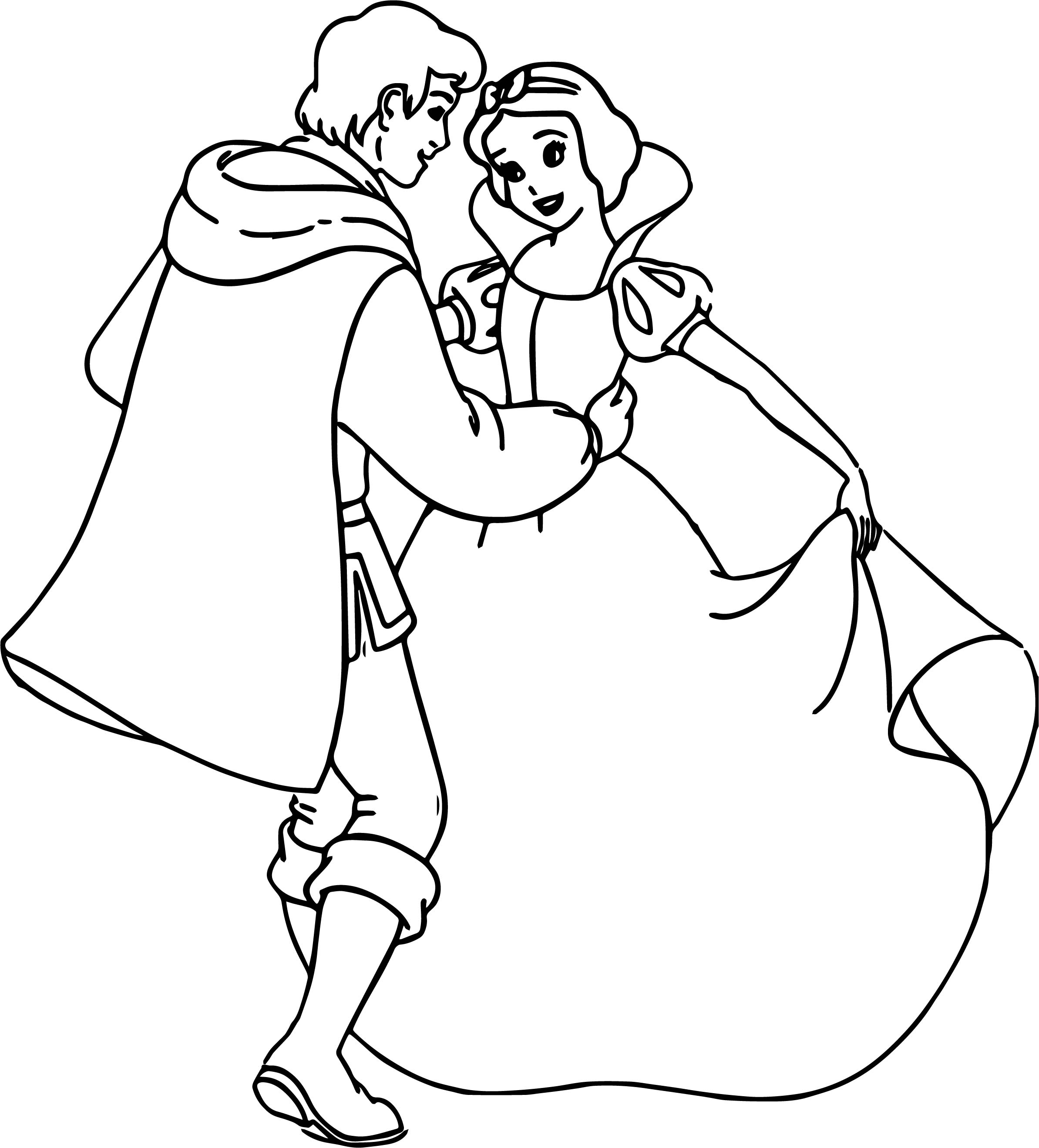 2387x2638 Princess Snow White Coloring Page For Girls Printable Free Pages