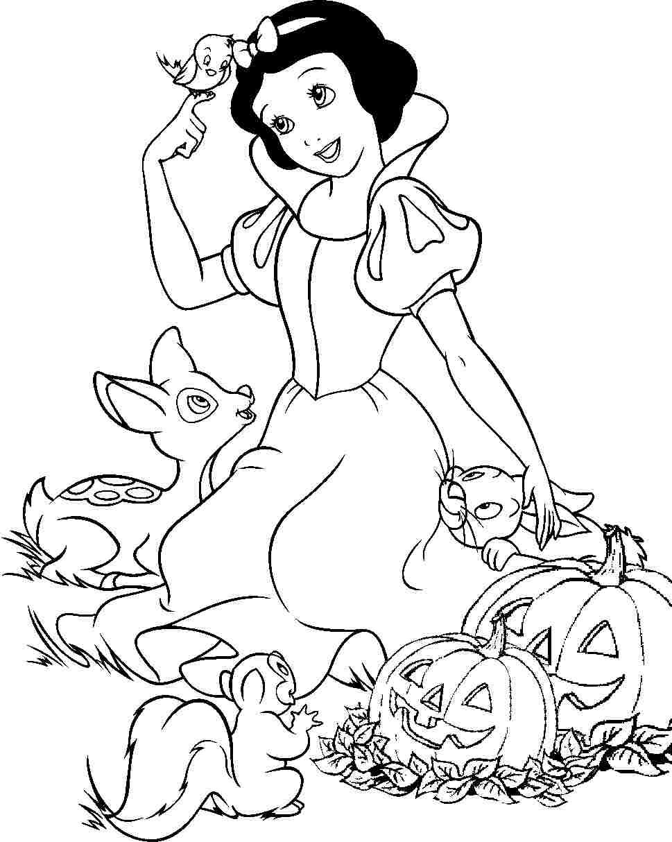969x1214 Printable Free Disney Princess Snow White Colouring Pages For Kids