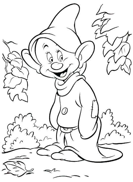526x720 Disney Coloring Pages Snow White Coloring Pages Disney Coloring