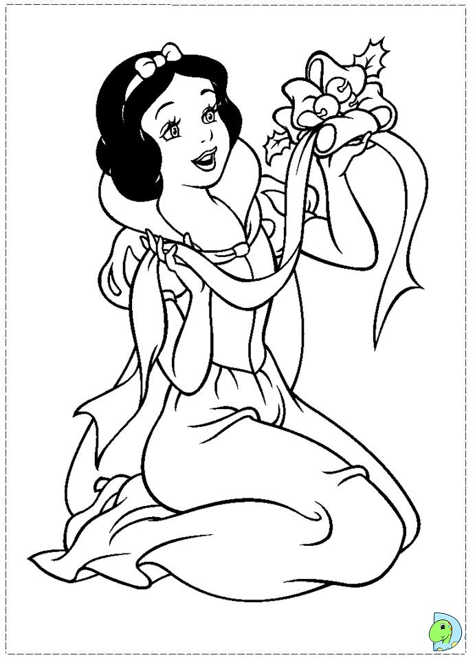 691x960 Disney Princess Snow White Coloring Page