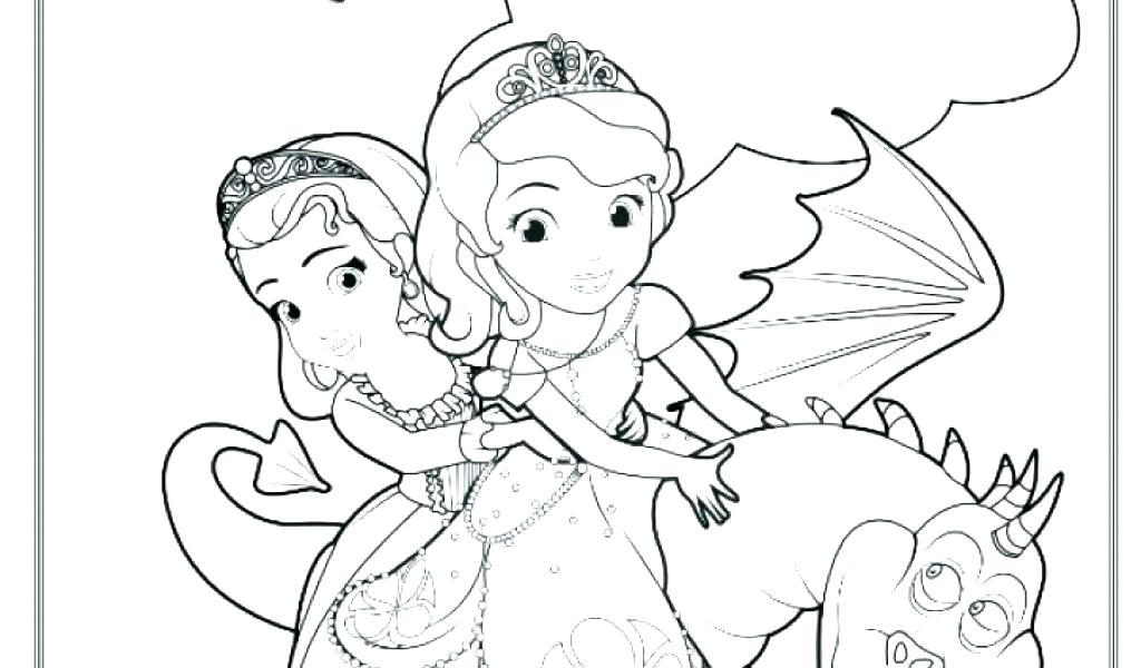Disney Sofia Coloring Pages at GetDrawings | Free download