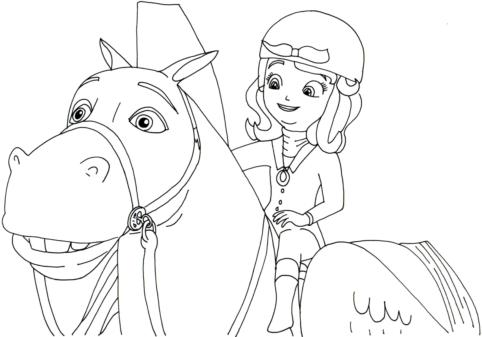 Disney Sofia Coloring Pages At Getdrawings Com Free For Personal