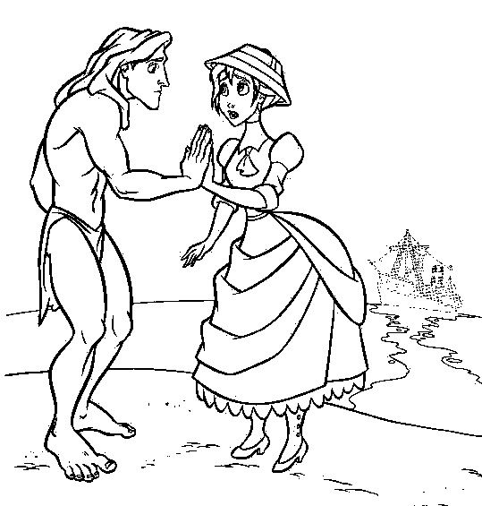 Disney Tarzan Coloring Pages