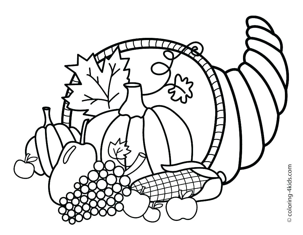 970x751 Cute Thanksgiving Coloring Pages Free Printable Thanksgiving