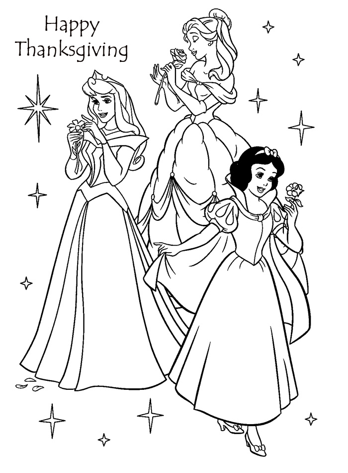 Disney Thanksgiving Coloring Pages Printables At Getdrawings Com