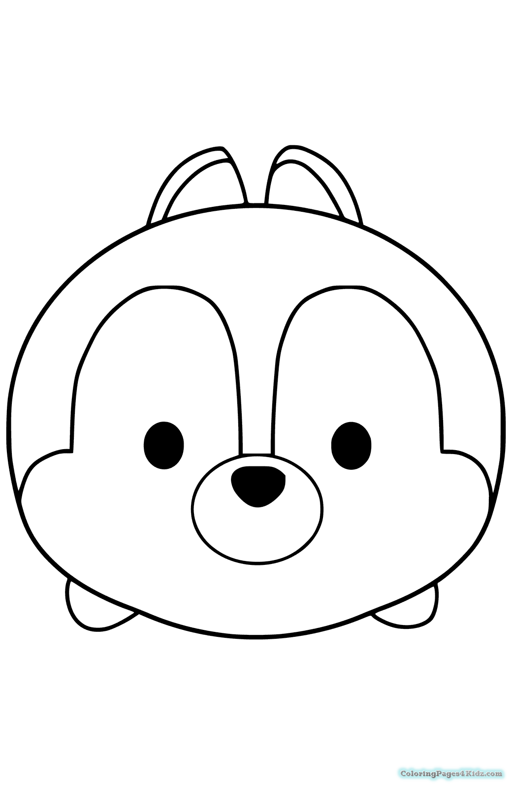Disney Tsum Tsum Coloring Pages at GetDrawings.com | Free for ...
