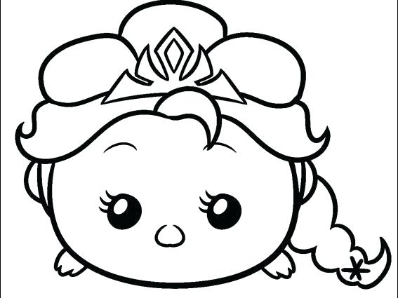 567x425 Disney Tsum Tsum Coloring Pages