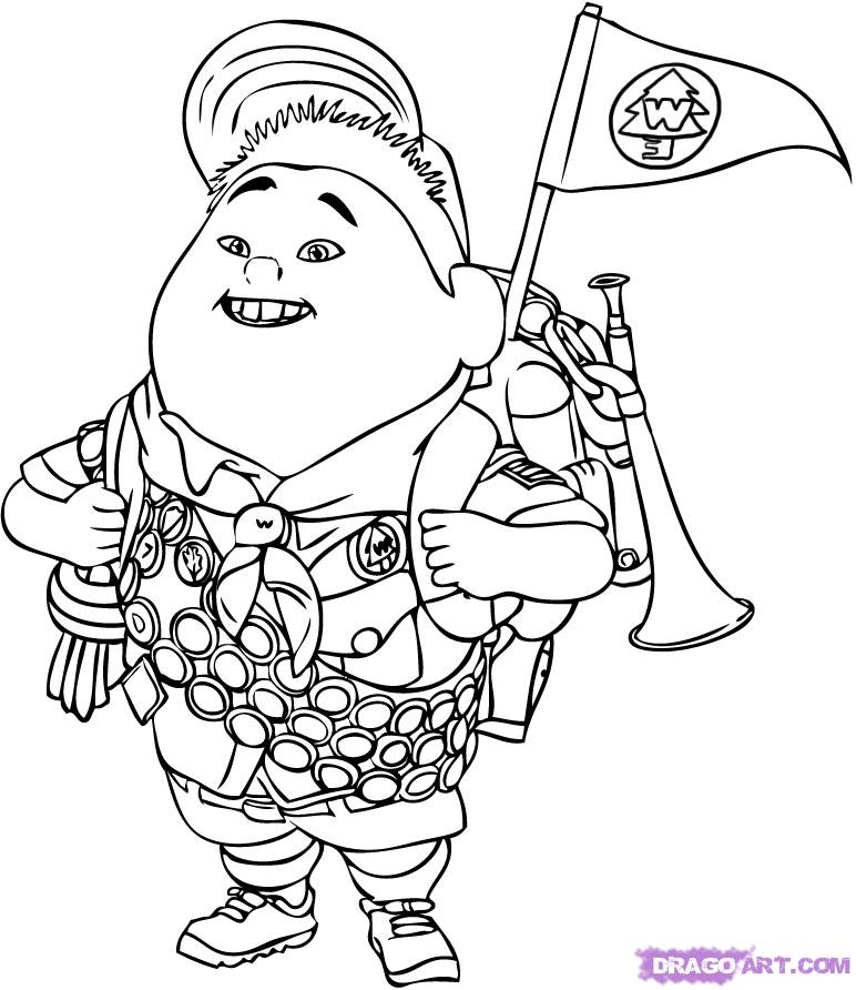 772x892 Up Coloring Pages Selection Free Coloring Pages