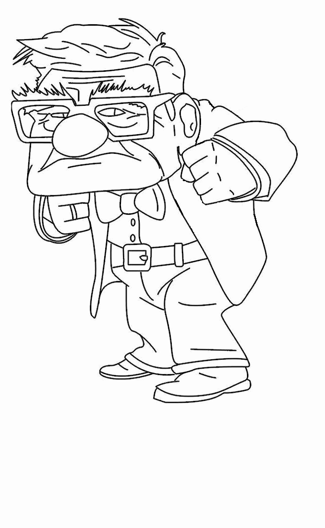 658x1067 Top Up Coloring Pages Free Coloring Page Pixar Up Coloring