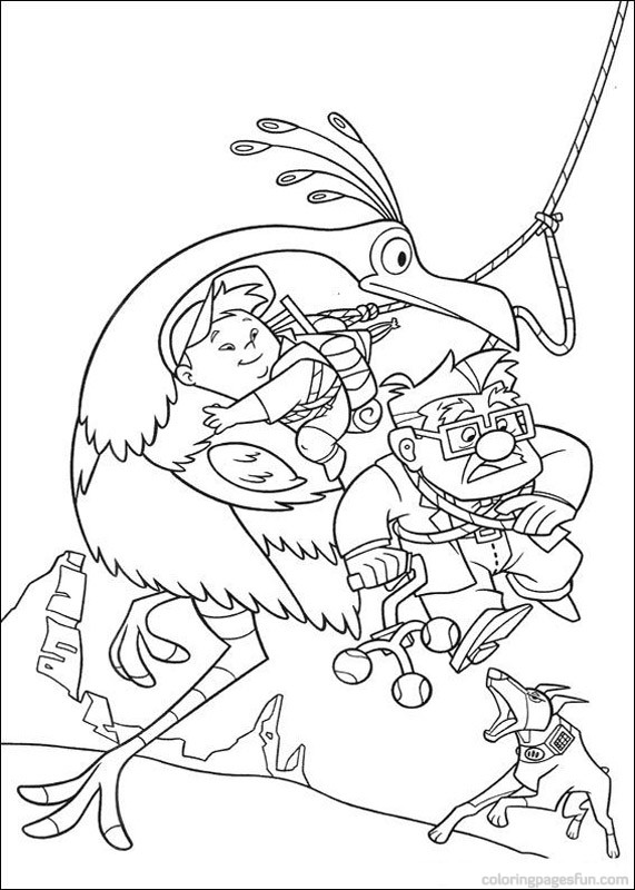571x800 Up Coloring Pages