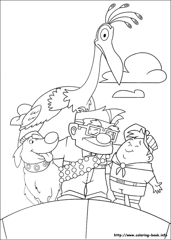 567x794 Up Coloring Pages On Coloring