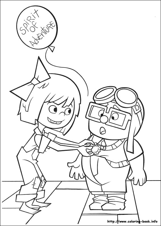 Disney Up Coloring Pages At Getdrawings Free Download