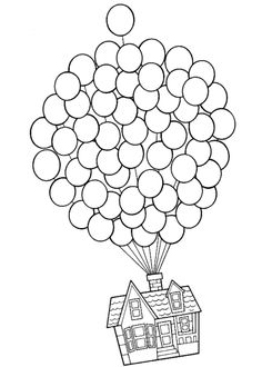 236x330 Balloon Stencil Ideas Put Thumb Prints Inside Baby In A Sling