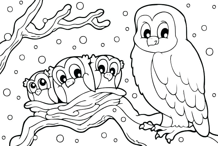 850x567 Free Printable Disney Winter Coloring Pages Colouring Large