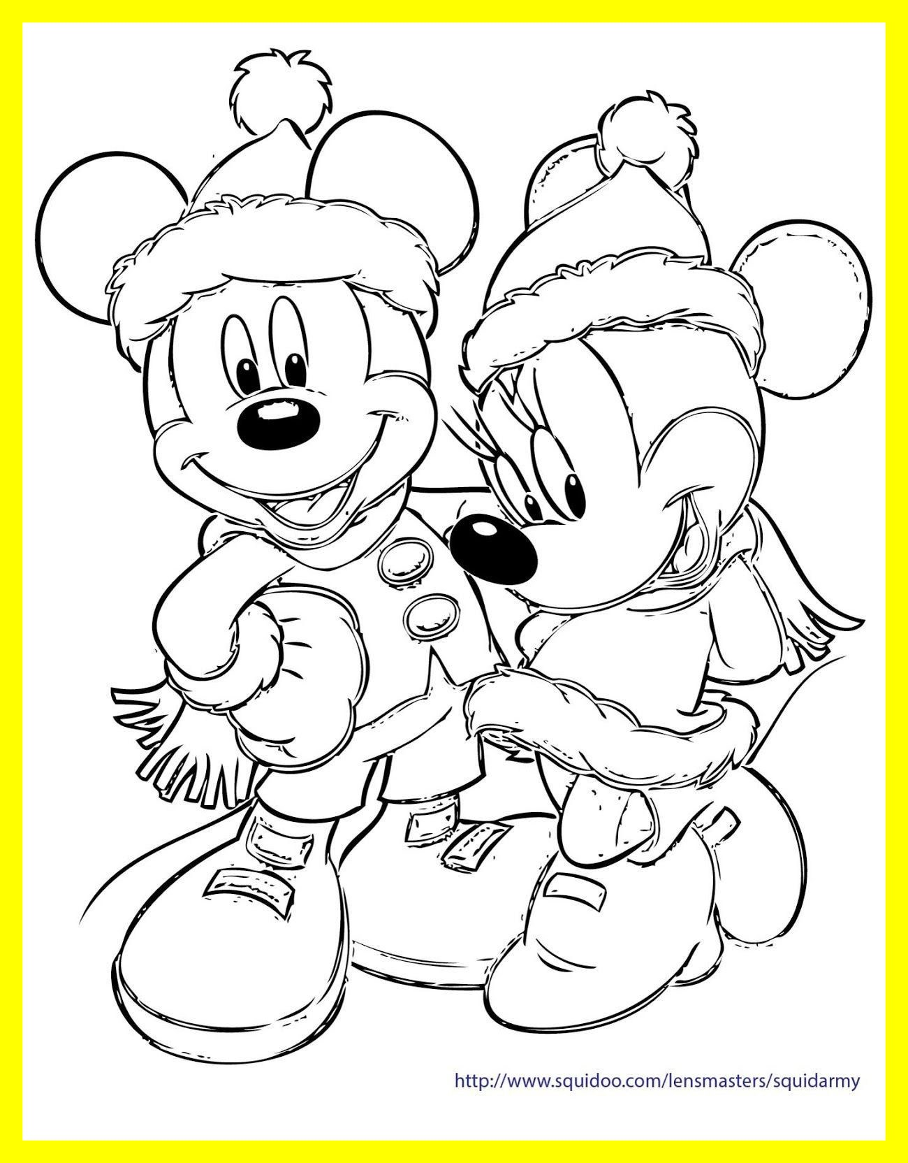 1300x1664 Incredible Disney Characters Christmas Coloring Pages