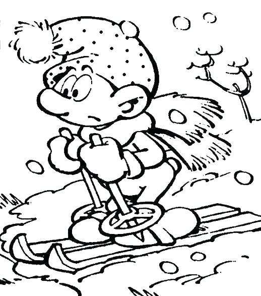 518x587 Collection Winter Coloring Pages Famous Winter Coloring Pages
